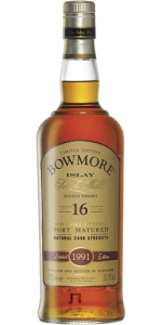 Bowmore Port Matured 1991