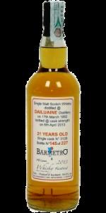 Dailuaine 1992/2013 (Bar Metro, 2013, 54,8%) Cask 3128