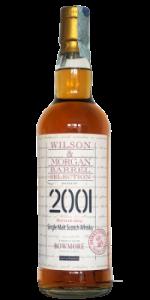 Bowmore 2001/2014 (Wilson&Morgan, 2014, 48%) Casks 20118-20122