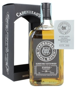 Burnside 1989/2015 Small Batch (Cadenhead's, 2015, 48,8%)