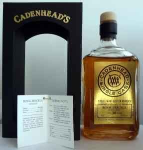 Royal Brackla 1984/2015 (Cadenhead's, 2015, 54,1%)